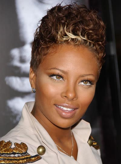 Eva Pigford Short, Funky Hairstyle