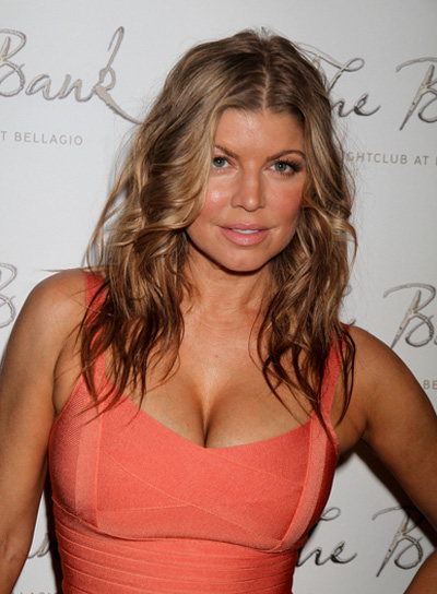Fergie Long, Wavy, Sexy Hairstyle