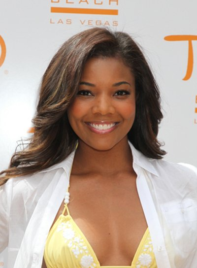 Gabrielle Union Long, Wavy, Sexy Hairstyle