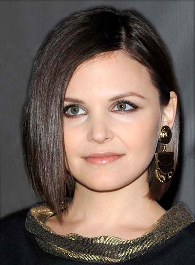 Ginnifer Goodwin Medium, Straight Bob