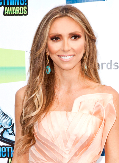 Giuliana Rancic's Long, Romantic, Wavy Hairstyle with Highlights