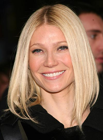 Gwyneth Paltrow Blonde Bob