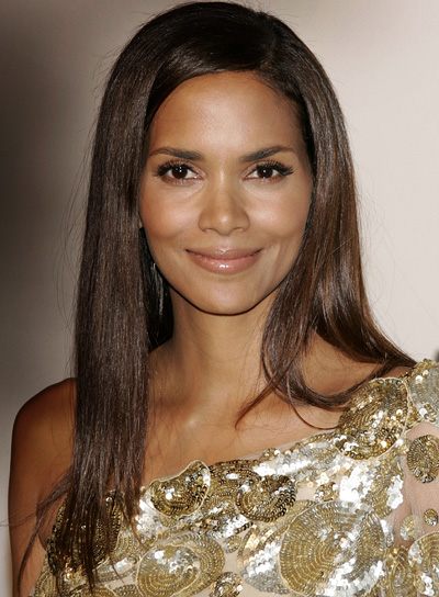 Halle Berry Straight, Long, Black Hairstyle