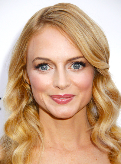 Heather Graham's Long, Blonde, Wavy, Romantic Hairstyle