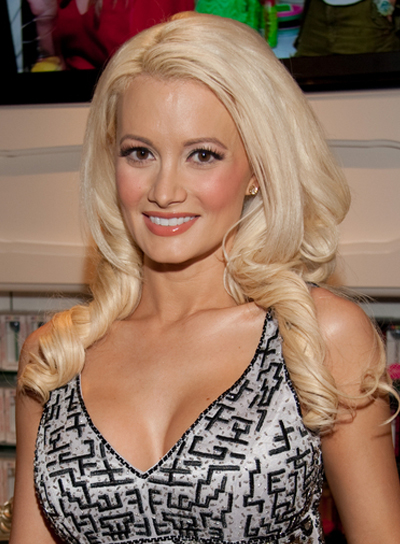 Holly Madison Curly, Prom Hairstyle