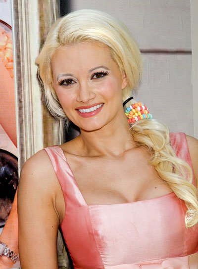 Holly Madison Long, Curly Ponytail