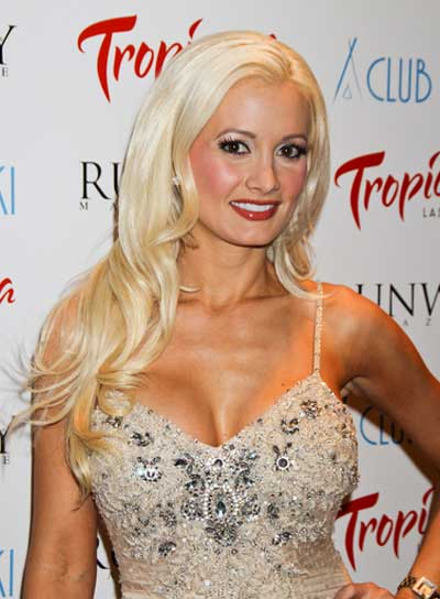 Holly Madison Long, Wavy, Layered Hairstyle