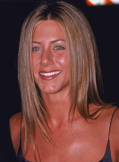 Jennifer Aniston Long, Sedu Hairstyle