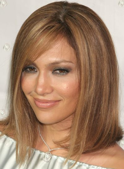 Jennifer Lopez Medium, Straight Bob