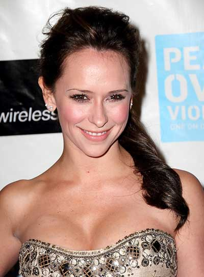 Jennifer Love Hewitt Romantic Brunette Ponytail