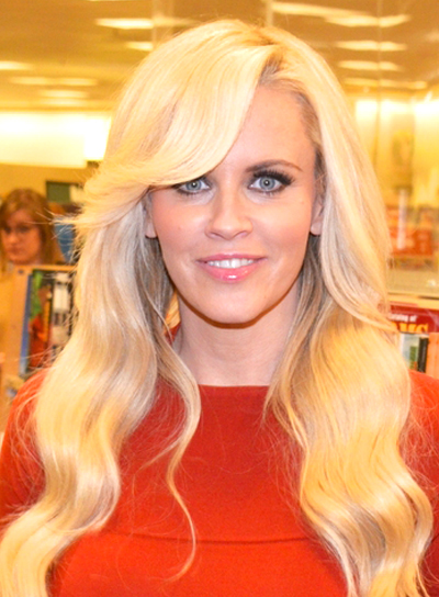 Jenny McCarthy's Long, Blonde, Wavy, Hairstyle