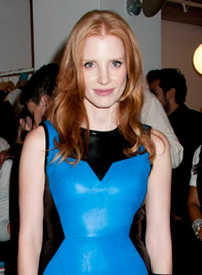Jessica Chastain's Long, Romantic, Wavy, Red Hairstyle
