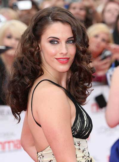 Jessica Lowndes Curly, Sophisticated, Prom, Brunette Hairstyle