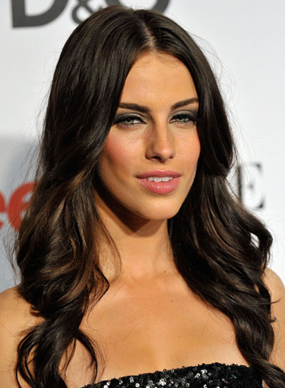 Jessica Lowndes Long, Curly, Romantic Hairstyle