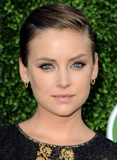 Jessica Stroup Short, Straight, Sophisticated Updo