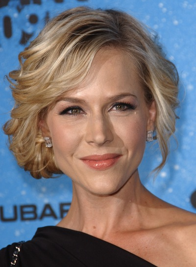 Julie Benz Blonde, Wavy Updo