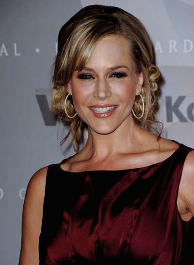 Julie Benz Romantic, Brunette Updo