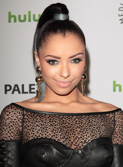 Kat Graham's Long, Sexy, Chic, Updo, Ponytail Hairstyle