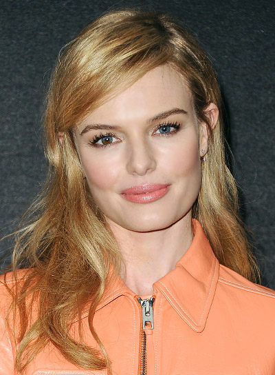 Kate Bosworth with a Medium, Tousled, Blonde, Sophisticated Hairstyle