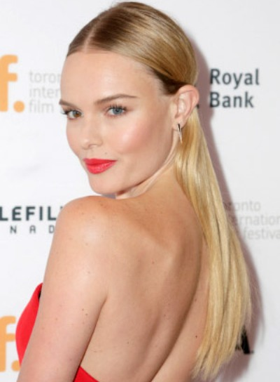 Kate Bosworth with a Sophisticated, Long, Straight, Blonde Hairstyle Pictures