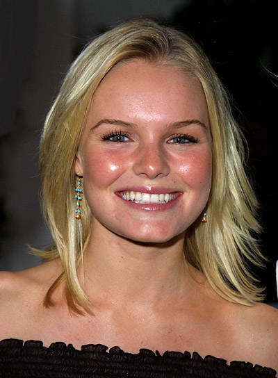 Kate Bosworth Straight, Medium-Length Hairstyle