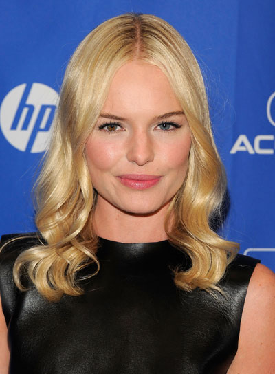 Kate Bosworth Medium, Wavy, Romantic, Blonde Hairstyle