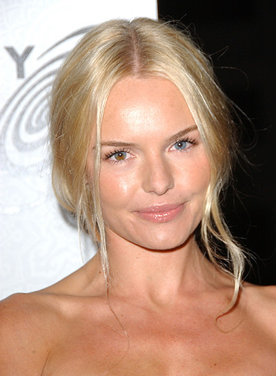 Kate Bosworth Chic, Straight, Blonde Updo