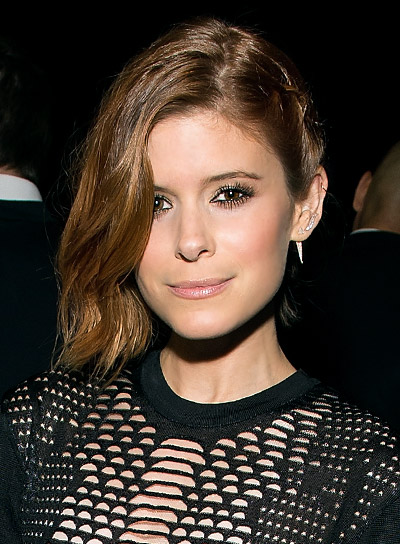 Kate Mara Short, Brunette, Edgy, Bob Hairstyle