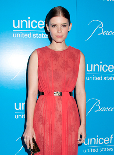 Kate Mara's Chic, Sophisticated, Brunette, Updo Hairstyle