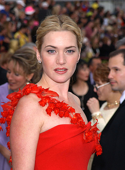 Kate Winslet Blonde, Prom Updo