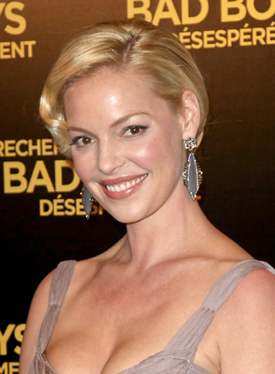 Katherine Heigl Romantic, Blonde Hairstyle