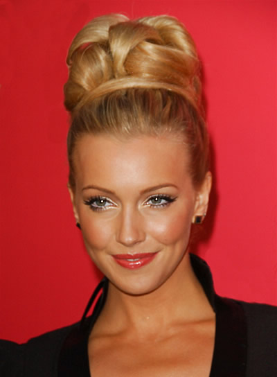 Katie Cassidy Formal, Wedding Updo