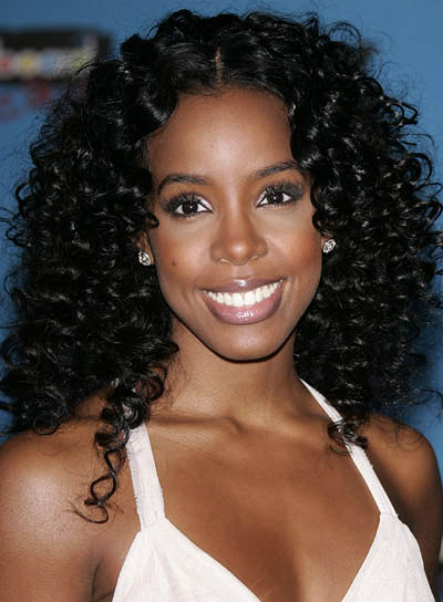 Kelly Rowland Sophisticated, Curly Hairstyle