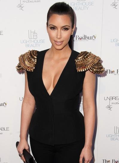 Kim Kardashian Chic, Prom Ponytail