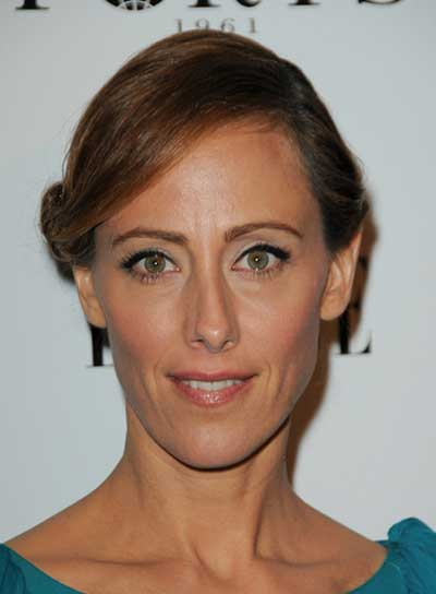 Kim Raver Sophisticated, Brunette Updo