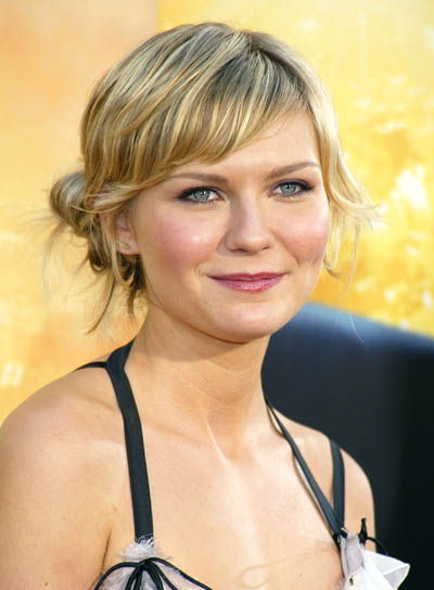 Kirsten Dunst Tousled Updo