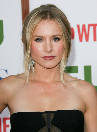 Kristen Bell Sophisticated, Blonde Updo