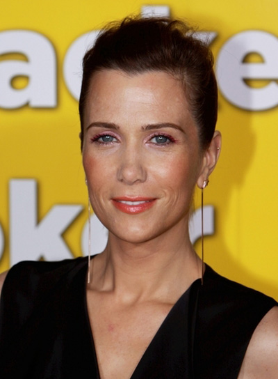 Kristen Wiig Sophisticated, Brunette Updo
