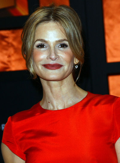 Kyra Sedgwick Medium, Sophisticated, Blonde Updo