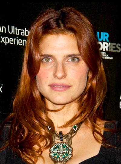 Lake Bell's Long, Wavy, Red, Tousled Hairstyle