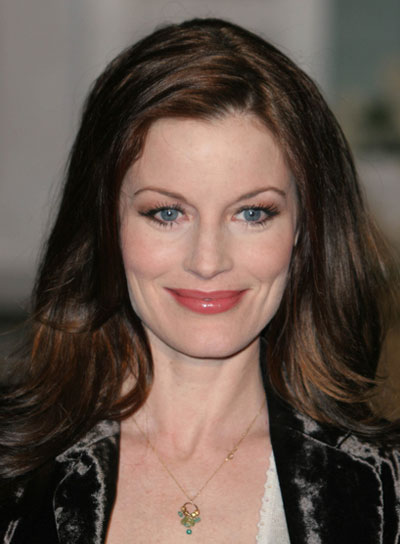 Laura Leighton Long, Straight, Brunette Hairstyle