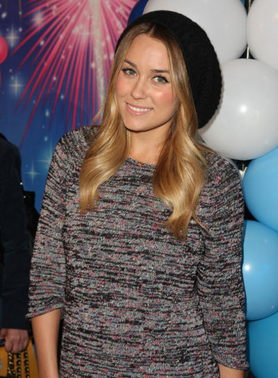 Lauren Conrad Long, Romantic, Blonde Hairstyle
