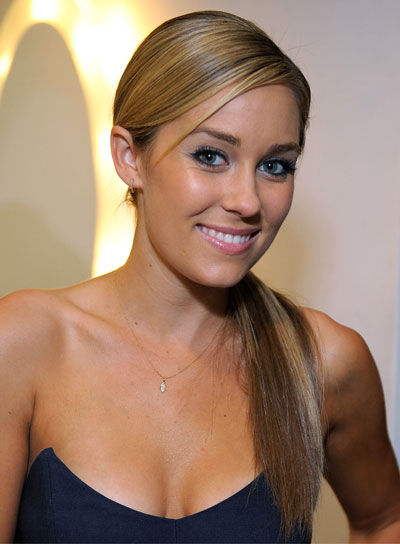 Lauren Conrad Straight, Chic, Blonde Ponytail