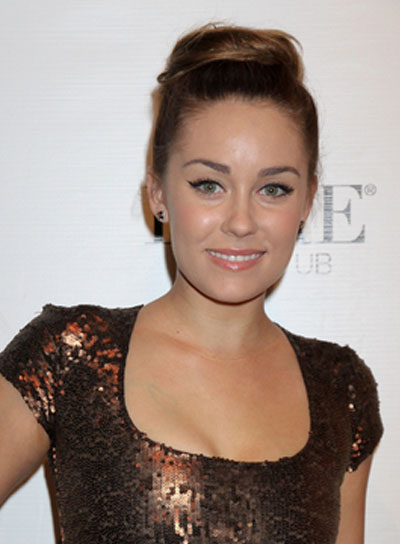 Lauren Conrad Romantic, Chic, Brunette Updo