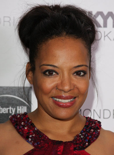 Lauren Velez Sophisticated, Black Updo