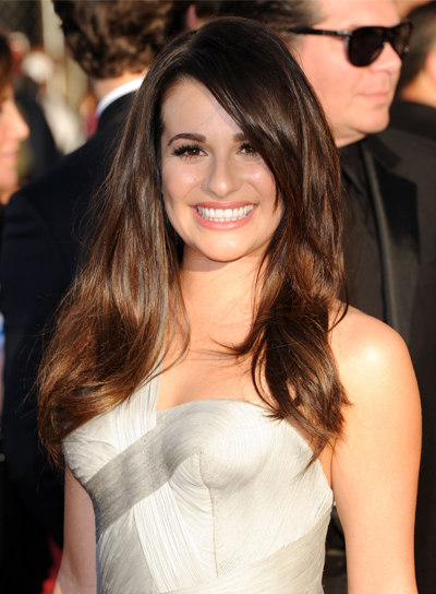 Lea Michele Long, Sexy, Sophisticated Hairstyle