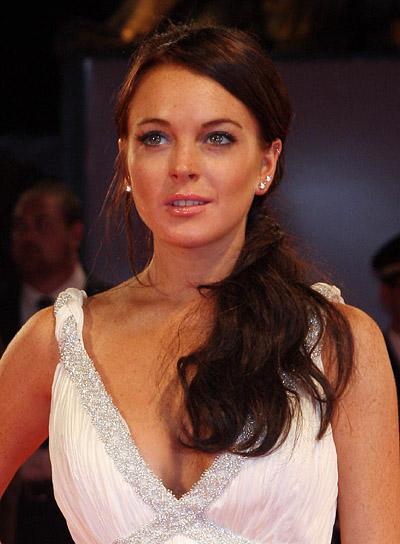 Lindsay Lohan Long Ponytail