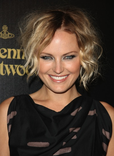 Malin Akerman Tousled, Edgy, Blonde Updo