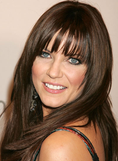Martina McBride Long, Straight, Layered Hairstyle