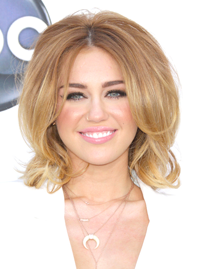 Miley Cyrus' Short, Sexy, Tousled, Bob Hairstyle